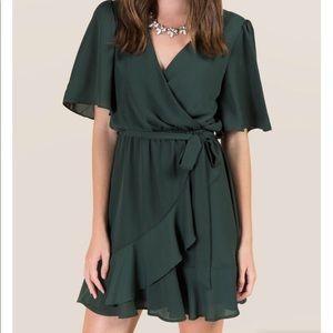 Hunter green dress size L